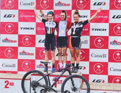 Laurie Arseneault est détentrice du titre canadien chez les U23