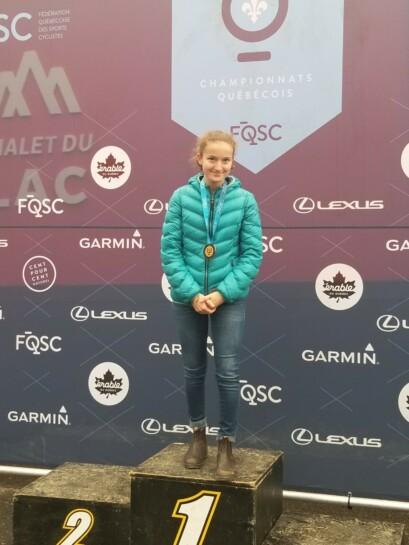 Lea Drouin est la nouvelle championne québécoise chez les Cadets (F)