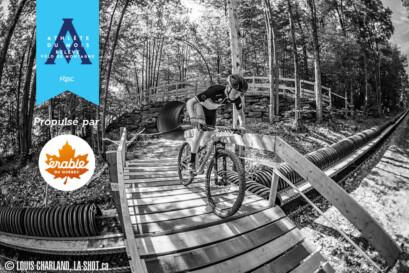 Léo Larichelière est l'athlète de la relève dans le secteur vélo de montagne en septembre