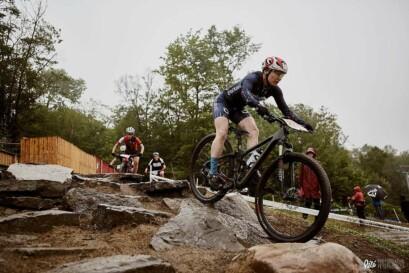 Le parcours était particulièrement difficile pour les Championnats québécois XCO