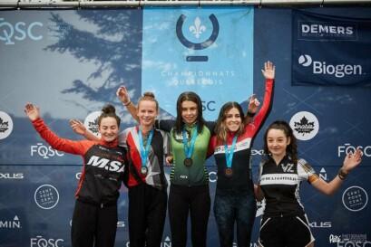 Podium Sport 15-29 ans Femmes