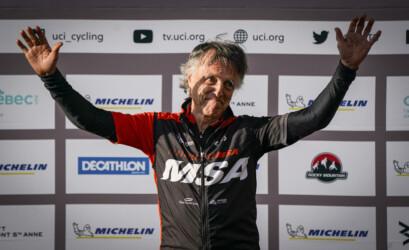 Pierre Éthier a soufflé ses 70 bougies en plus de remporter le titre mondial chez les plus de 70 ans