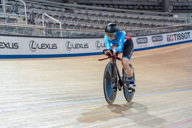 Marie-Claude Molnar a réalisé son meilleur temps au 200 mètres départ lancé.