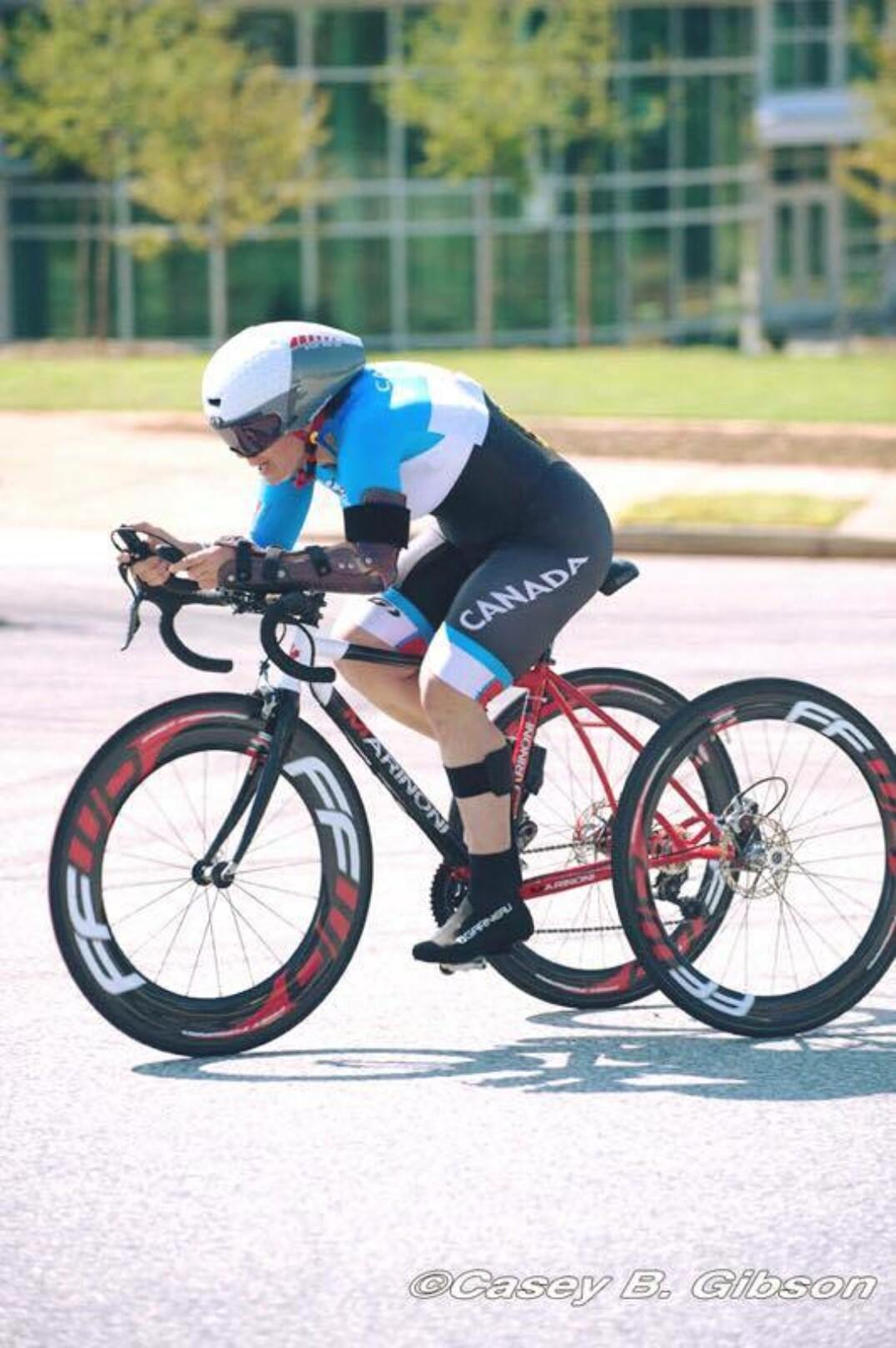 Marie-Ève Croteau sera en action vendredi lors des Championnats du monde Para Route 2019 à Emmen, aux Pays-Bas