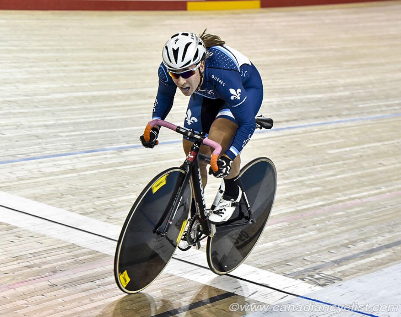 Lauriane Genest 500M Credit Canadian Cyclist
