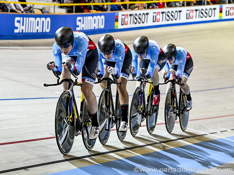 Mondiaux Poursuitef Canadian Cyclist