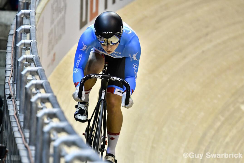 Twcb18 Lauriane Genest Guy Swarbrick Canadian Cyclist