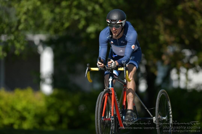 Louis-Albert Corriveau-Jolin a remporté le contre-la-montre