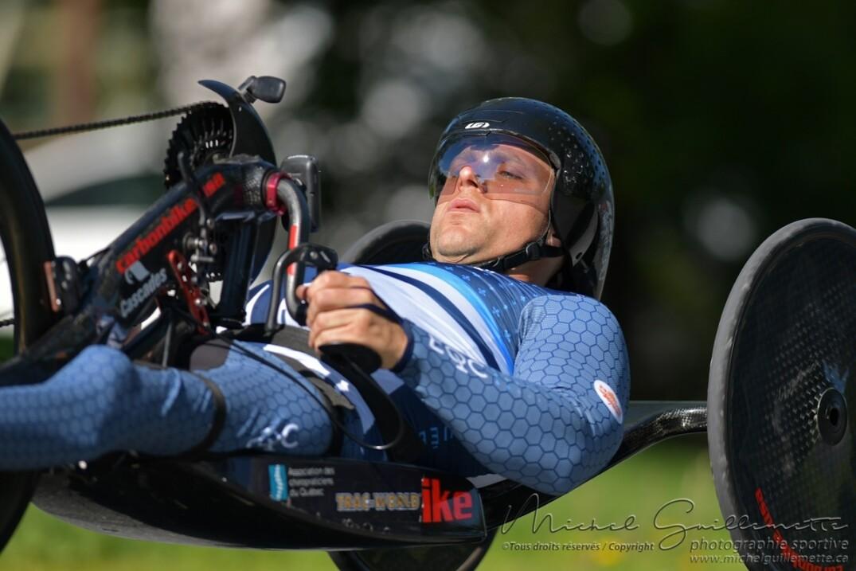 Charles Moreau a remporté l'épreuve de contre-la-montre