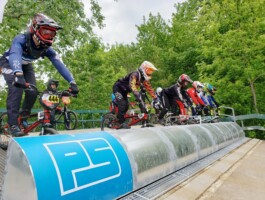 Ligne de départ 3 BMX Pointe-du-Lac