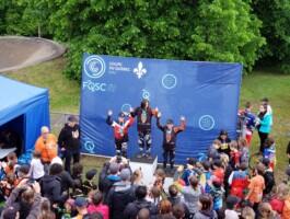 Podium 3 BMX Pointe-du-Lac