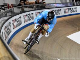 Hugo Barrette a signé un temps de 9,884 secondes lors des qualifications au sprint dimanche.