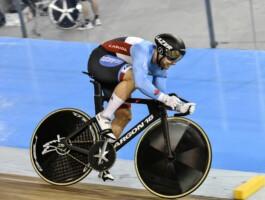 Hugo Barrette a réalisé le 12e meilleur chrono du sprint individuel lors des qualifications dimanche matin.