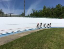 première tranche de la Coupe Québec sur piste qui se tenait à Bromont le 24 juin prochain