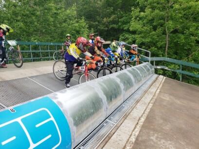 Ligne de départ 2 BMX Pointe-du-Lac