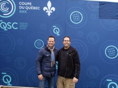 Sylvain Beaudoin et Jean-Luc Brassard