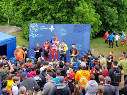 Podium 6 BMX Pointe-du-Lac
