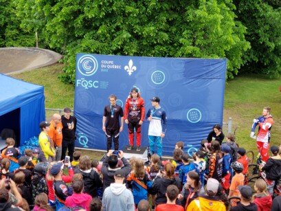 Podium 5 BMX Pointe-du-Lac
