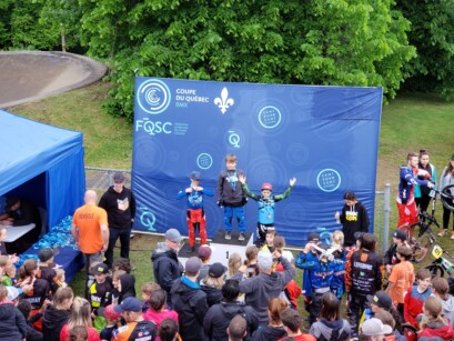 Podium 4 BMX Pointe-du-Lac