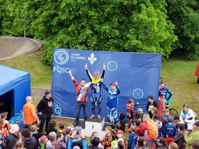 Podium 2 BMX Pointe-du-Lac
