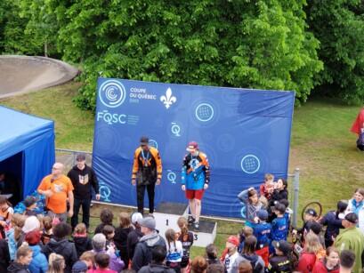 Podium BMX Pointe-du-Lac
