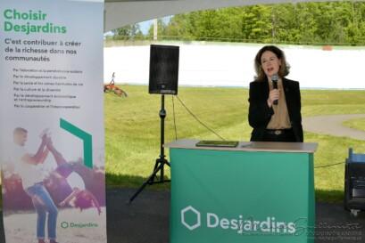 Marie-Huguette Cormier, première vice-présidente Ressources humaines et Communications chez Desjardins