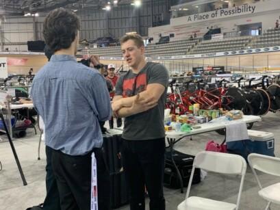 Joël Archambault en entrevue avec Cycle Presse.