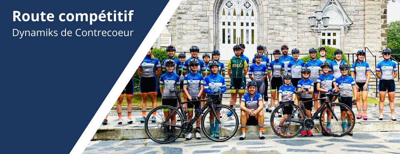 Route Club Cycliste Dynamiks De Contrecoeur