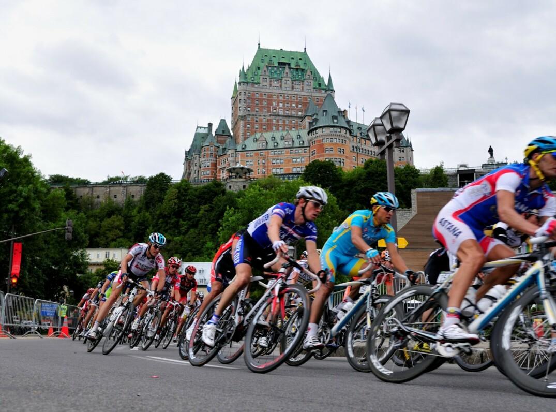 La Course Grand Prix Cycliste  Qubec 16 Chatau Frontenac