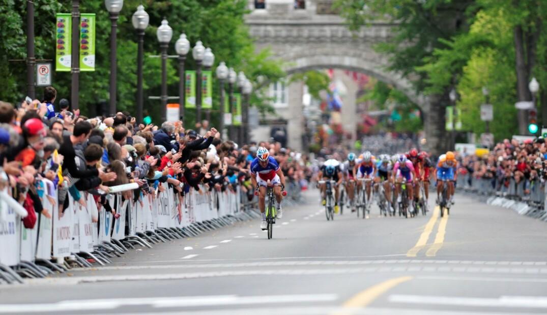 La Course Grand Prix Cycliste Qubec 19 Thomas Voeckler Sur Sa Lancer
