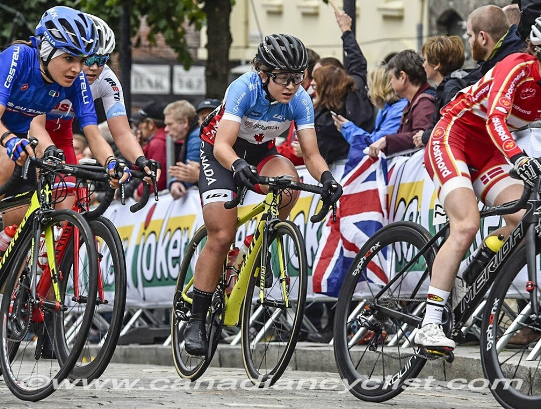 Simone Boilard Canadian Cyclist
