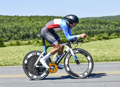 James Piccoli au contre-la-montre du Tour de Beauce 2018