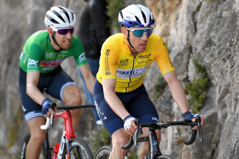 Michael Woods Durant La Derniere Etape Du Tour Des Alpes Maritimes Et Du Var