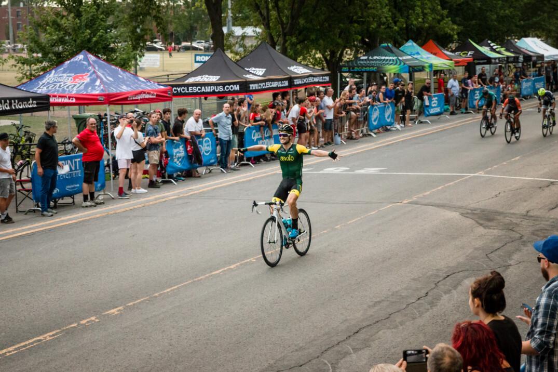 Laurent Gervais s'impose lors de la 8e étape des Mardis cyclistes de Lachine