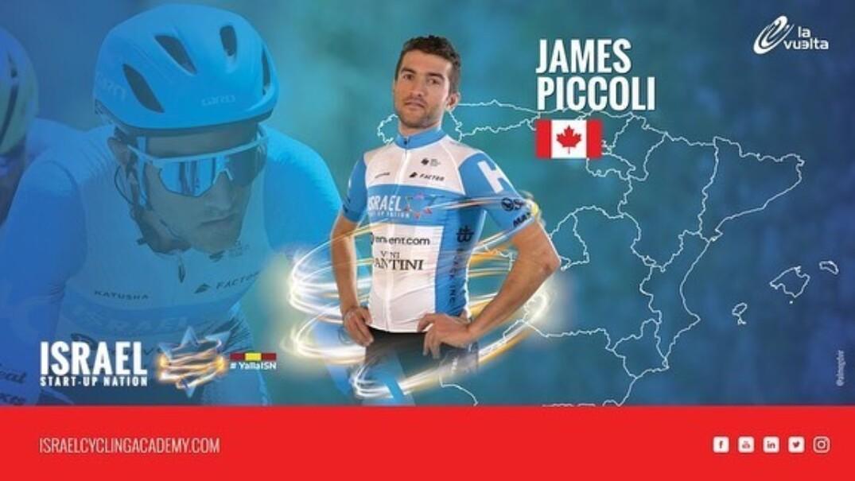 James Piccoli à la Vuelta