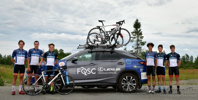 L'équipe du Québec au Tour de l'Abitibi 2019