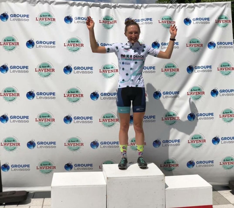 Magdeleine Vallières-Mill remporte le Tour de l'Avenir Makadence chez les juniors femmes