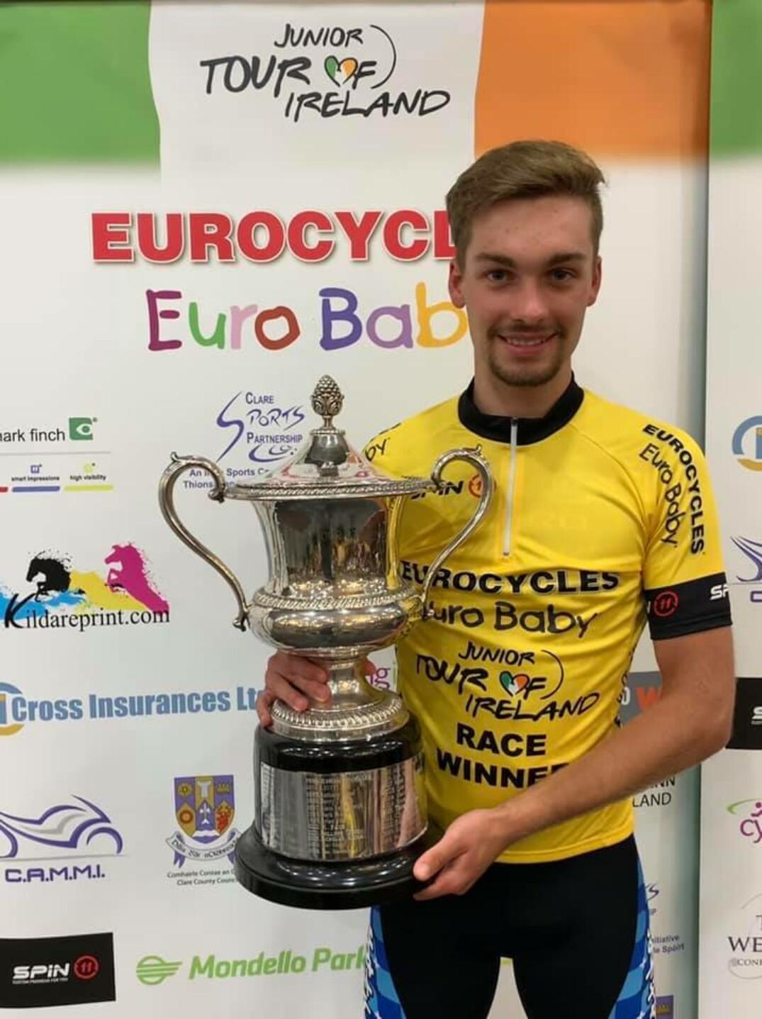 Nicolas Rivard remporte le Tour d'Irlande 2019