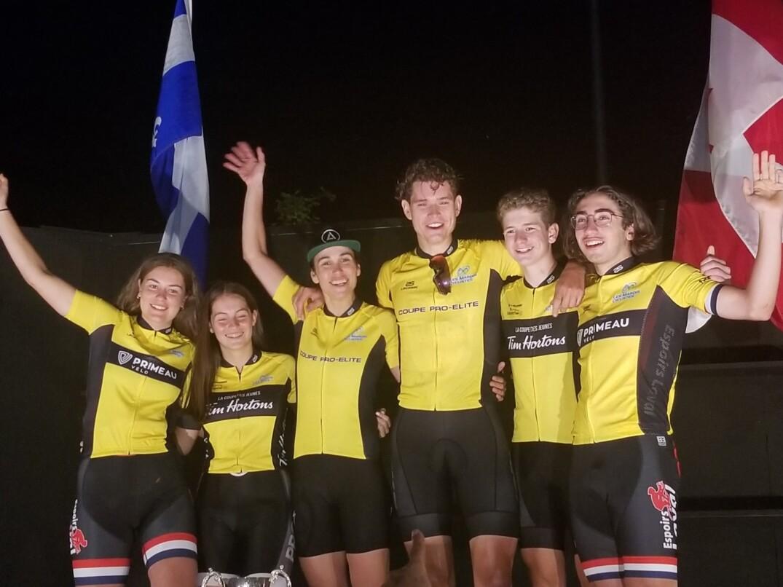 Les six vainqueurs du maillot jaune dans chacune des catégories