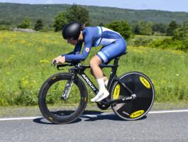 Adèle Desgagnés a terminé au pied du podium lundi