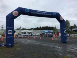 Le site de compétition des Championnats québécois sur route élites/para 2019 à Saint-Georges-de-Beauce