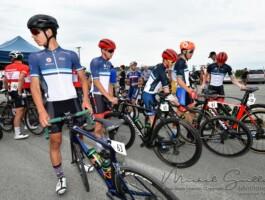 Les membres de l'équipe du Québec sont concentrés avec la quatrième étape