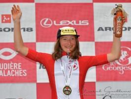 Magdeleine Vallières Mill remporte le titre canadien sur route