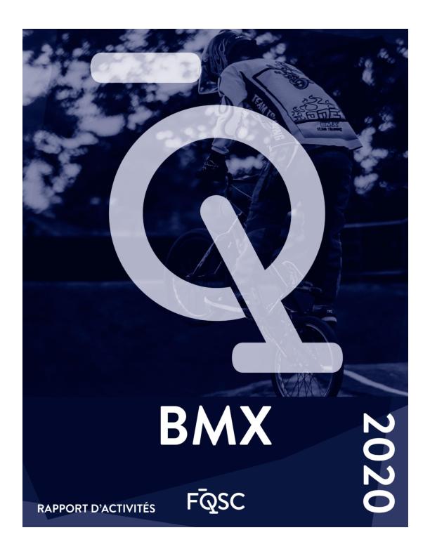 Rapport des activités BMX 2020