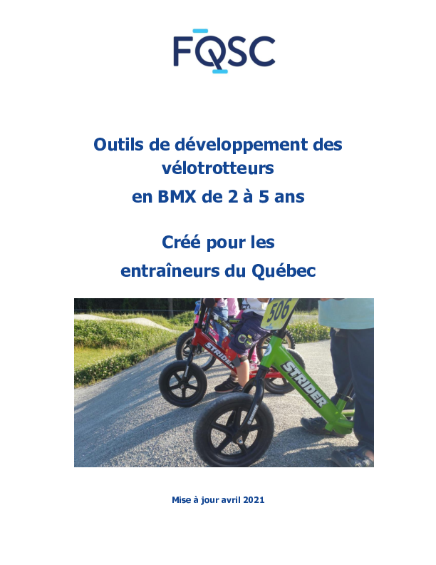 Guide de développement des vélotrotteurs