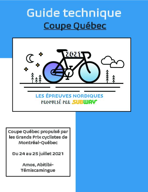 Guide Technique Coupe Quebec