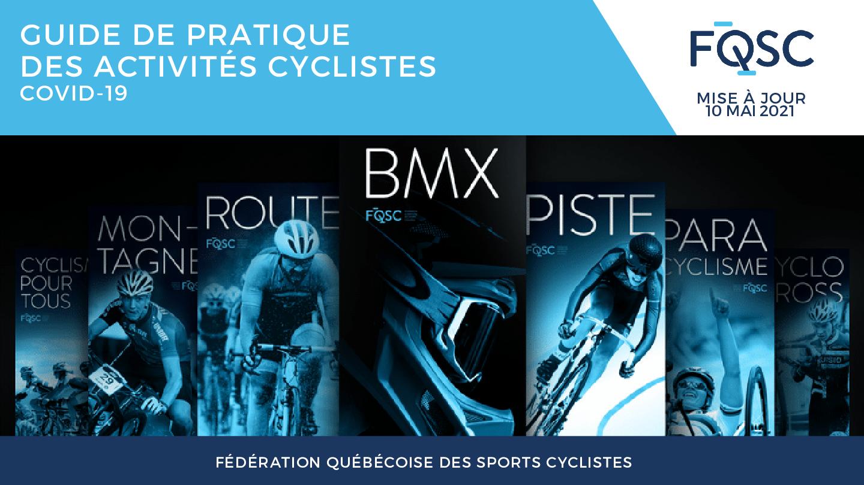 Plan de relance des activités cyclistes 2021