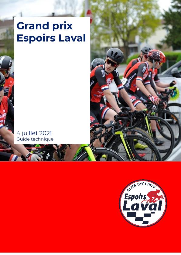 Guide Technique Gp Espoirs Laval 2021