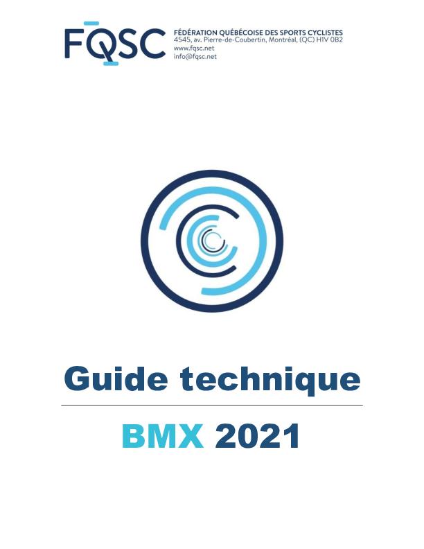 Guide Technique Bmx Maj2Juillet